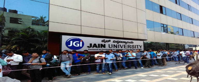 direct admission in Jain University